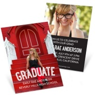 The Graduate Mini Graduation Announcements
