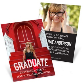 The Graduate -- Mini Graduation Announcements