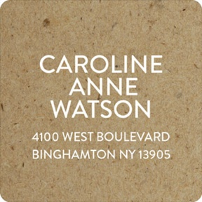 Rustic Backgrounds -- Graduation Address Labels