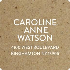 Rustic Backgrounds -- Graduation Address Labels