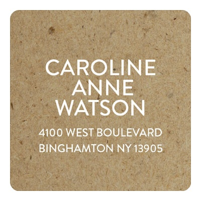 Rustic Backgrounds Graduation Address Labels