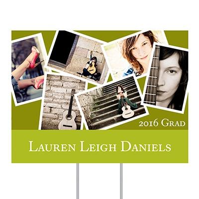 Grad Snapshots Yard Sign Graduation Party Decorations