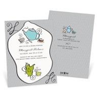 Coffee Or Tea Bridal Shower Invitations