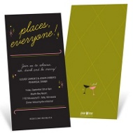 Show Time Rehearsal Dinner Invitations