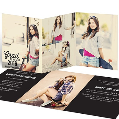Tri Fold Graduation Invitations could be nice ideas for your invitation template