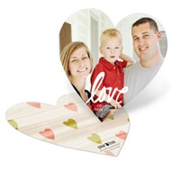 Love In Your Heart Valentine's Day Photo Cards