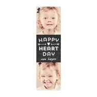 Photo Paper Happy Heart Day