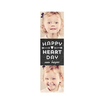 Photo Paper Happy Heart Day Valentine's Day Cards For Kids