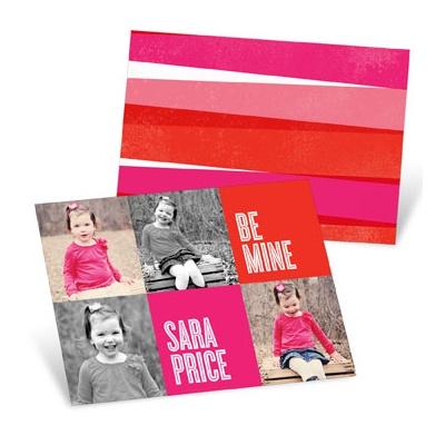 Color Blocks Valentine's Day Cards For Kids