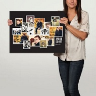 Snapshots 24x18 Custom Poster Graduation Party Decorations