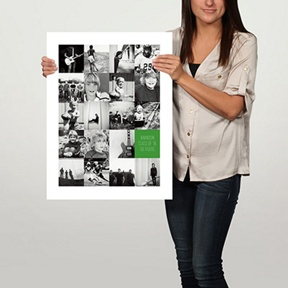 Tall Collage 18x24 Custom Poster -- Graduation Party Decorations