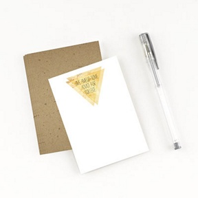 Good As Gold Comment Cards -- Graduation Party Decorations