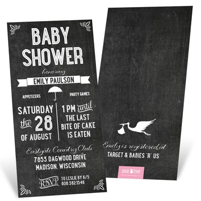 Vintage Creation Baby Shower Invitations