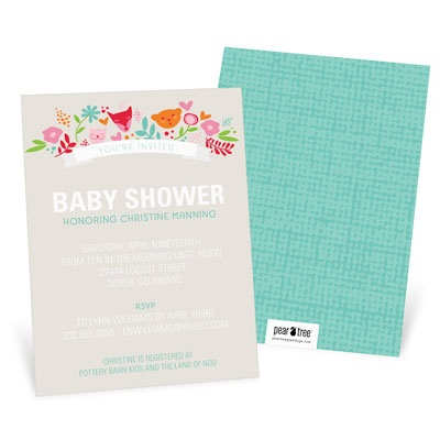 Whimsical Wonder Baby Shower Invitations