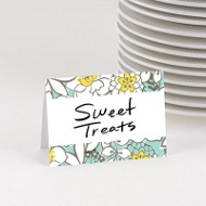 Burst Of Blooms Table Cards Baby Shower Decorations