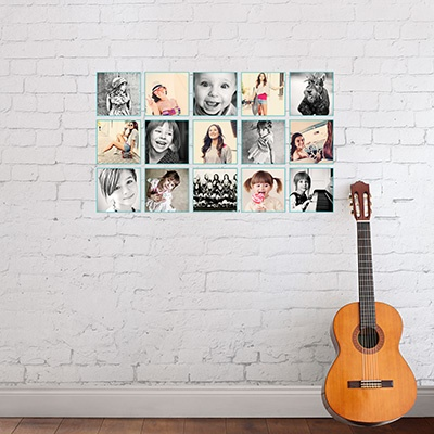 Fifteen Frame Wall Decals Graduation Party Decorations
