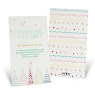 Twinkling Trees Holiday Party Invitations