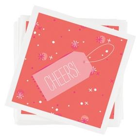 Surprise Package Napkins -- Party Decorations