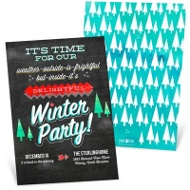 So Delightful Holiday Party Invitations