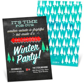 So Delightful -- Holiday Party Invitations