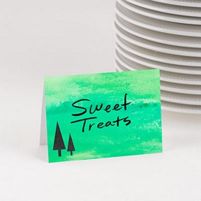 So Delightful Table Cards -- Party Decorations