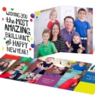 Bright New Year's Card