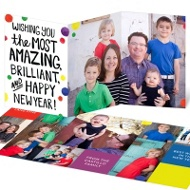 Brilliant Colors New Year's Cards