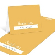 First Introductions Baby Thank You Cards