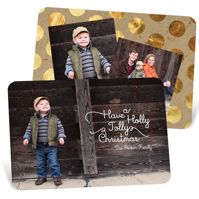 Familiar Verses Holiday Photo Cards