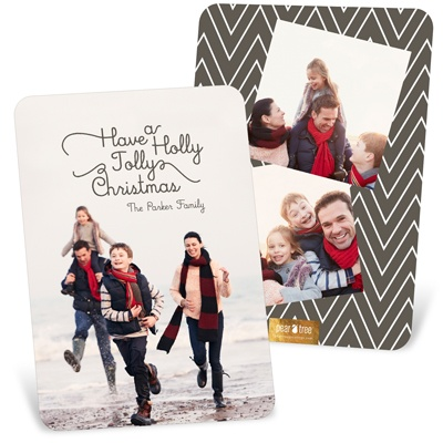 Familiar Verses Vertical Holiday Photo Cards
