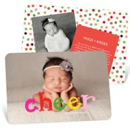 Colorful Cheer Christmas Cards