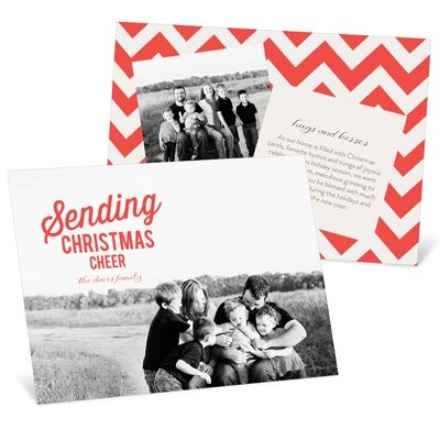 Moveable Cheer Holiday Photo Cards