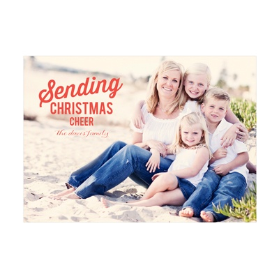 Photo Paper Moveable Cheer Christmas Cards