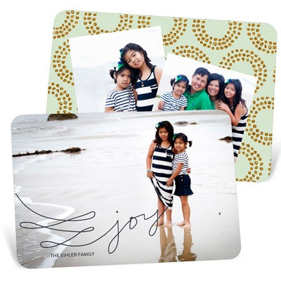 Joy Doodle Holiday Photo Cards