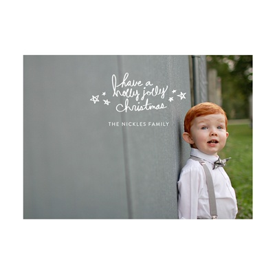 Photo Paper All Stars Holiday Photo Cards