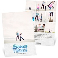 Blessed Tidings Religious Christmas Cards