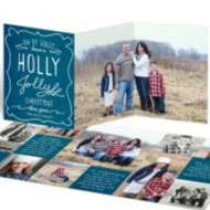 Trifold Christmas Cards