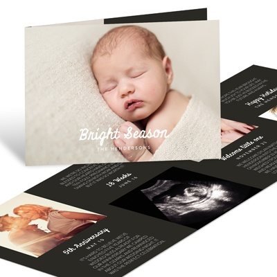 Folded Just Right Holiday Photo Cards