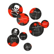 Wear Black Table Decor Halloween Decorations