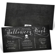 Toxic Treats Halloween Invitations
