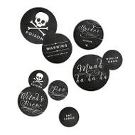Toxic Treats Table Decor Halloween Decorations