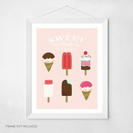 Sweet Treats -- Wall Art