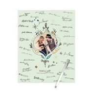 Wish Us Well Ornament Guest Book Print