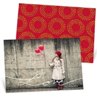 Love Script Valentine's Day Photo Cards