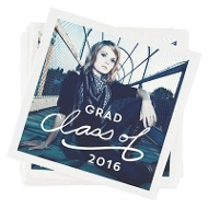 Drama Class Graduation Napkins