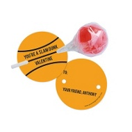 Slam Dunk Lollipop Holder Classroom Valentines