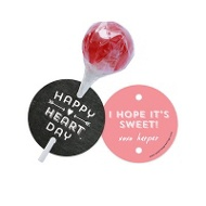 Heart Day Lollipop Holder Classroom Valentines