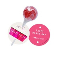 Be My Cupcake Lollipop Holder Classroom Valentines