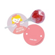 Princess Lollipop Holder Classroom Valentines