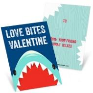 Shark Bite Classroom Valentines